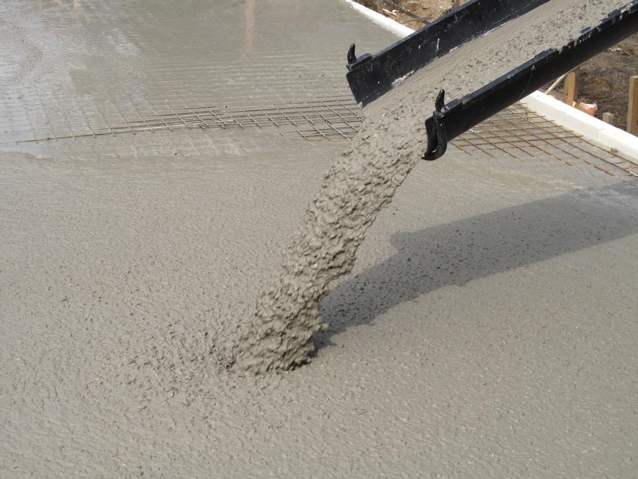 Dodávky betonu